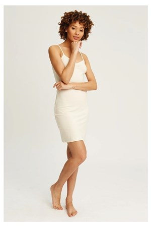 Camisole Slip Dress in Cream