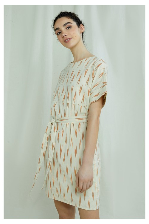 Christabel Ikat Dress
