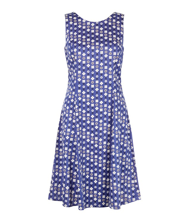 Christy Dress in Blue from People Tree