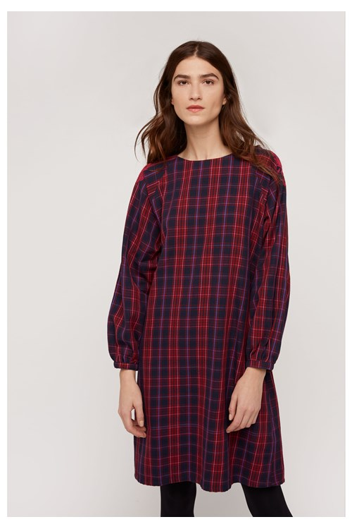 Corine Check Tunic from People Tree