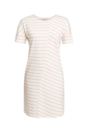 Cornelia Stripe Tunic in Pink