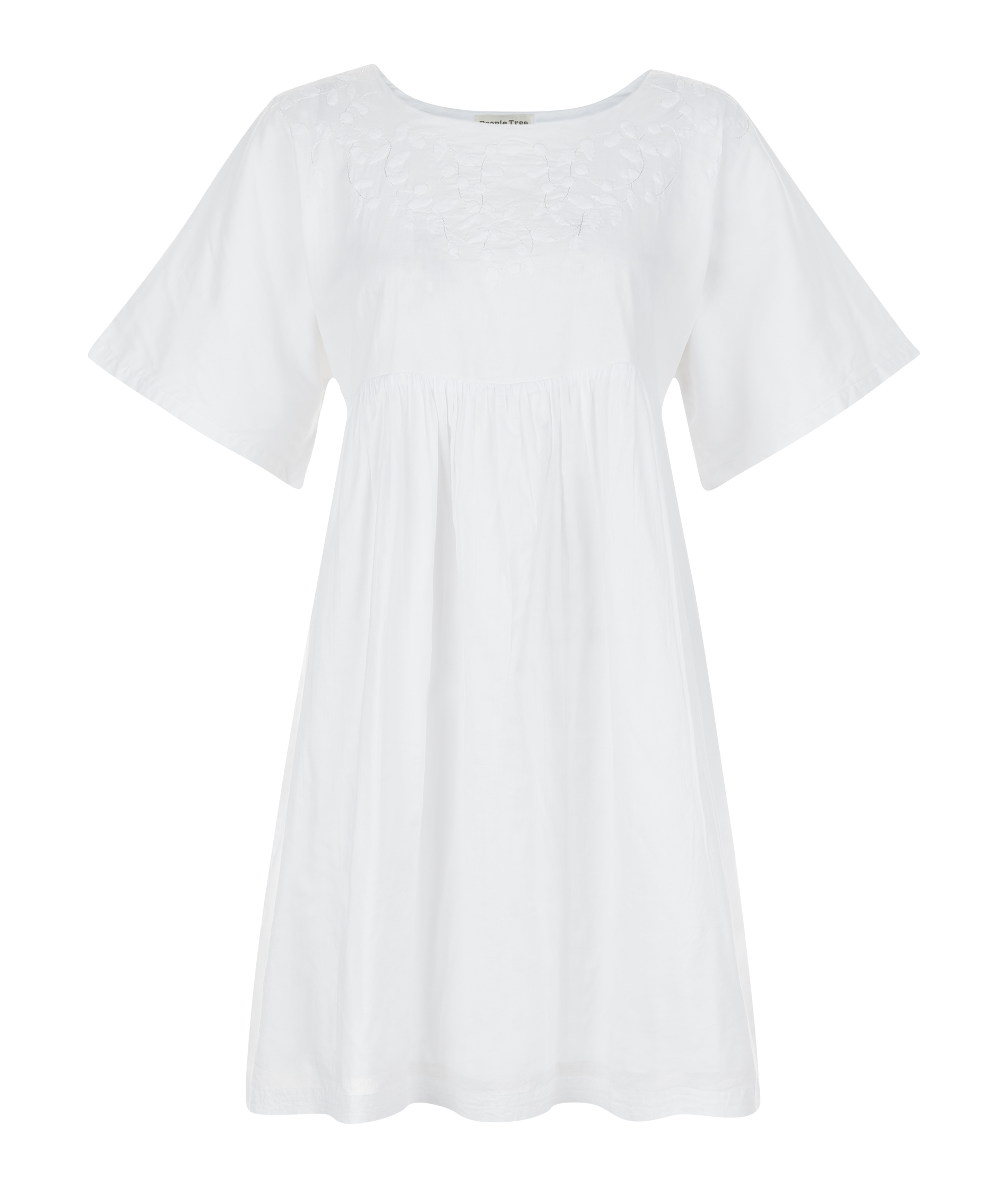 People Tree | Ebba Tunic Dress in White