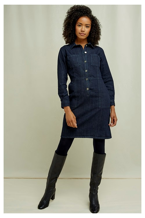 Emmanuelle Denim Dress