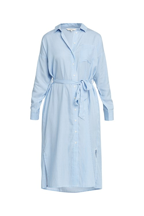 Ginny Stripe Shirt Dress