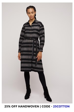 Greta Stripe Dress