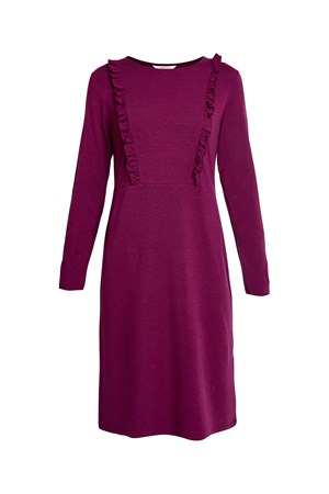 Indria Dress in Purple