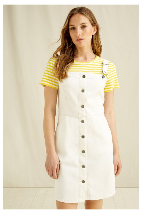 Jerrika Pinafore Dress