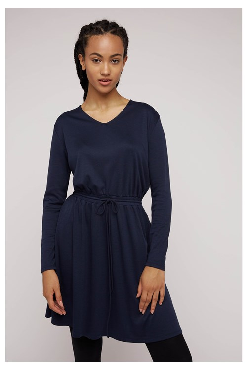 Julia Dress in Navy