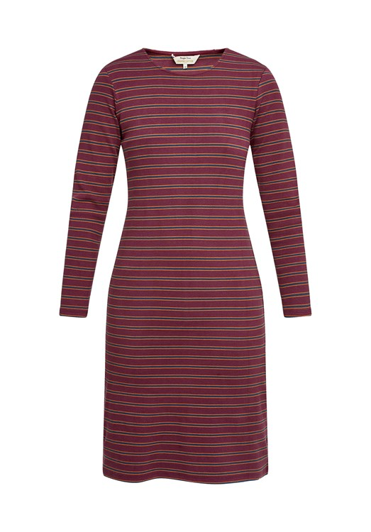 Kala Stripe Rib Dress