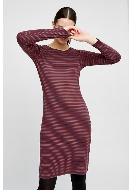 Kala Stripe Rib Dress from People Tree