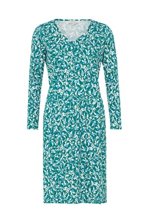 Keeley Green Floral Dress