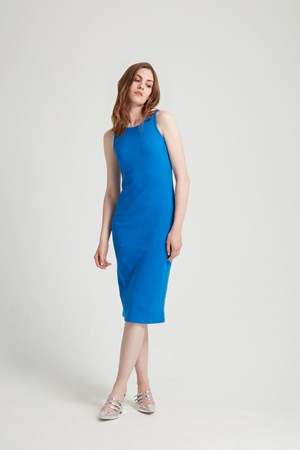 Kinsey Dress in Blue