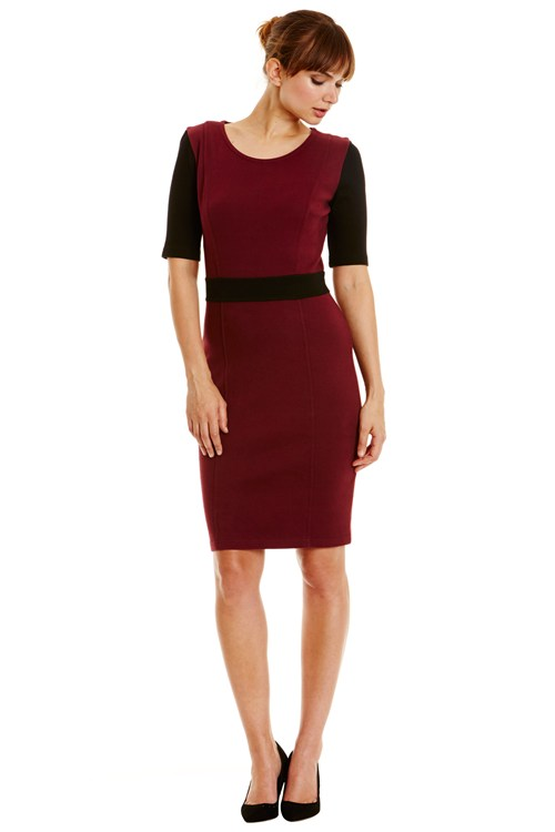 Langley Fitted Dress
