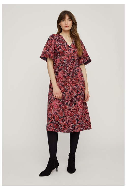 Marianne Paisley Dress