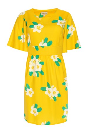 Marina Plumeria V-neck Dress