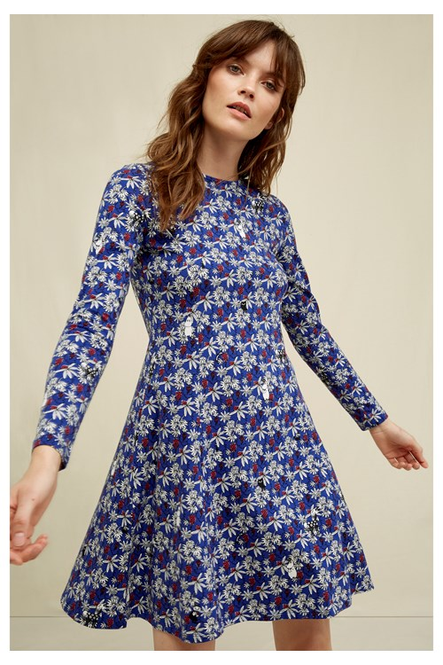 Moomin Berry Dress from People Tree