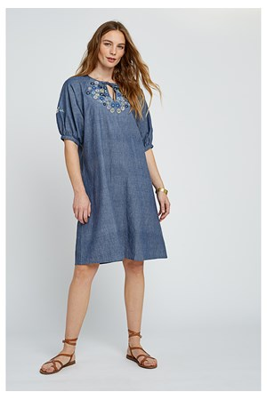 Patti Embroidered Dress