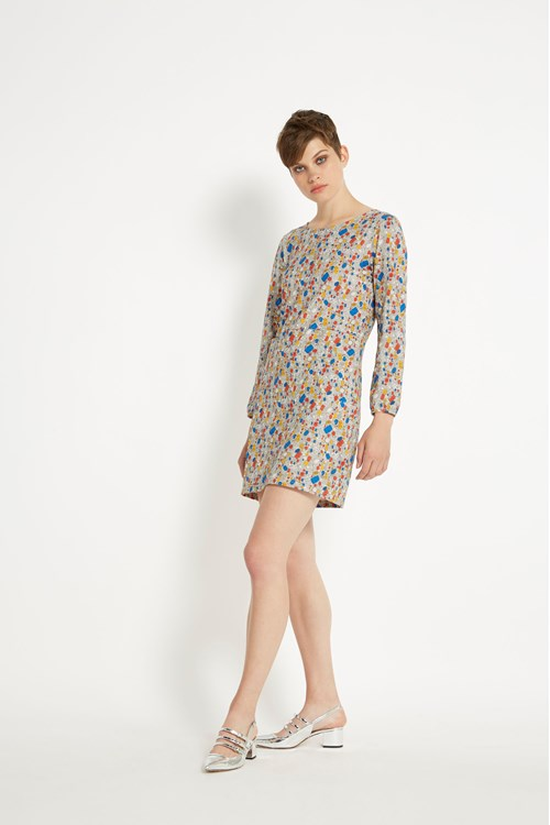 Peter Jensen Jewel Shift Dress in Multi colour