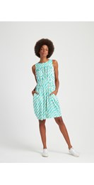 /women/Peter-Jensen-Parrot-Print-Sleeveless-Dress-in-Green