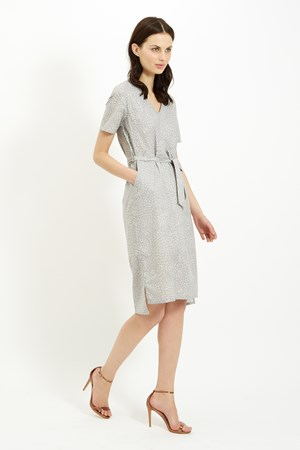 Phoebe Dress in Grey
