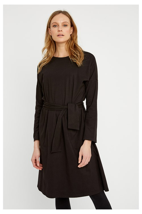 Pippi Dress in Black from People Tree