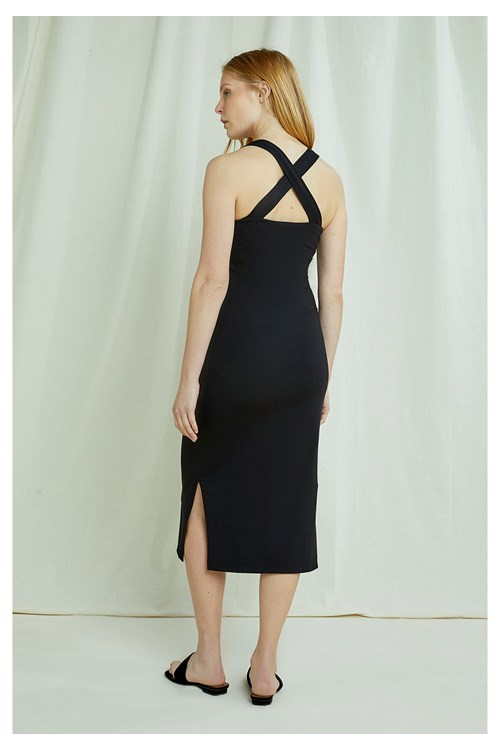 Priti Cross Back Dress