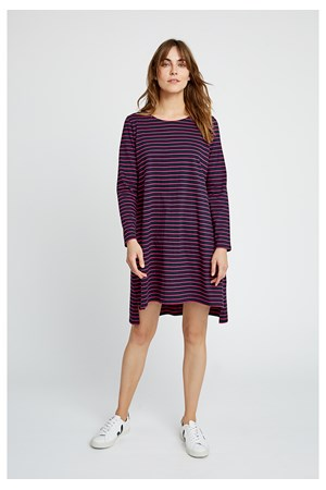 Rafaella Stripe Tunic in Blue