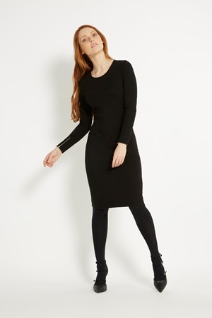 Rhea Dress in Black