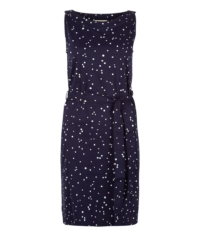 Rhonda Dress in Navy