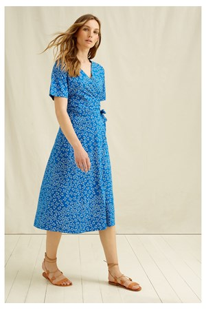 Ria Butterfly Wrap Dress