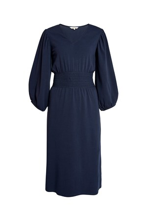 Riona Dress in Navy