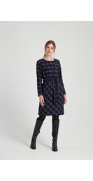 /new-in/rosita-checked-dress-in-navy