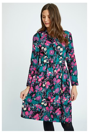 Shelby Floral Shirt Dress