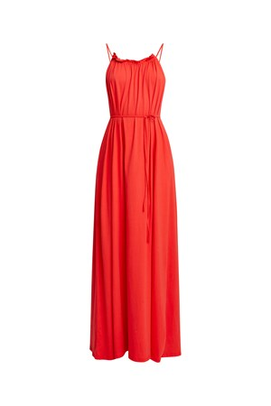 Stacie Maxi Dress in Red