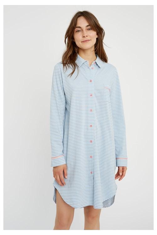 Stripe Pyjama Shirt Dress from People Tree