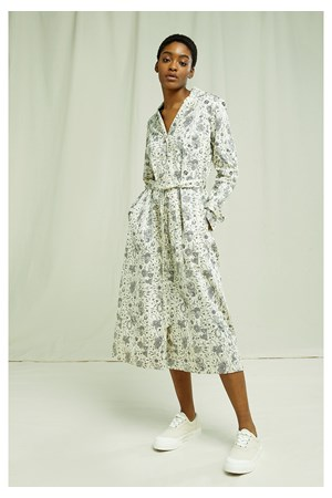 V&A Anaya Print Shirt Dress