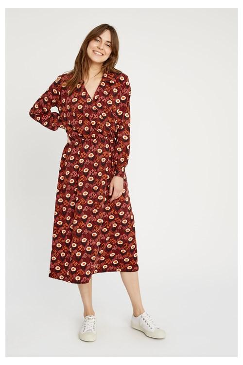 V & A Daisy Print Midi Dress from People Tree