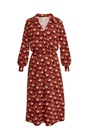 V&A Daisy Print Midi Dress