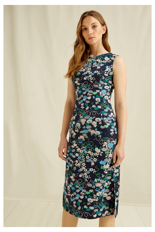 V & A Floral Print Dress from People Tree