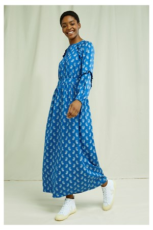 V&A Neha Print Maxi Dress