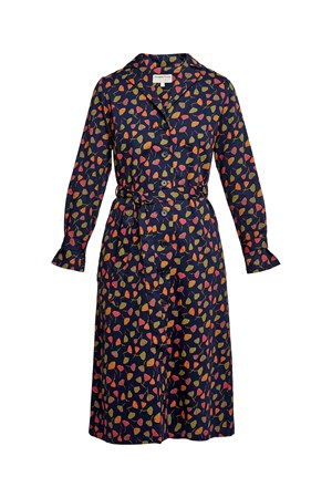 V&A Poppy Print Coat Dress