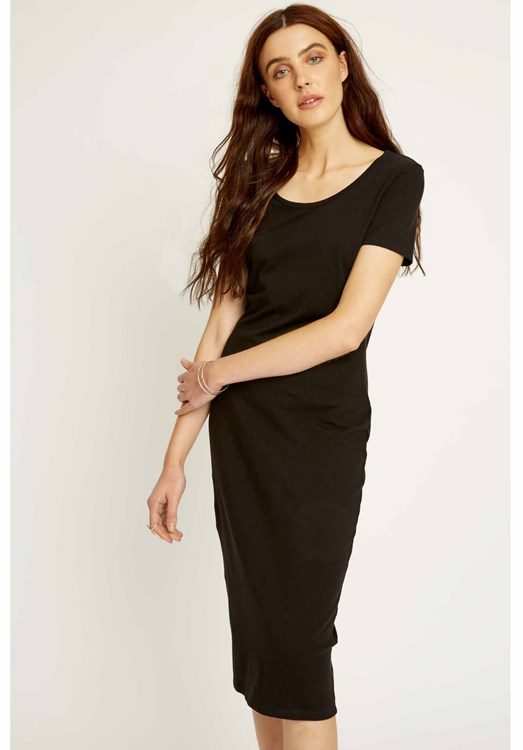 Vada Dress in Black from People Tree