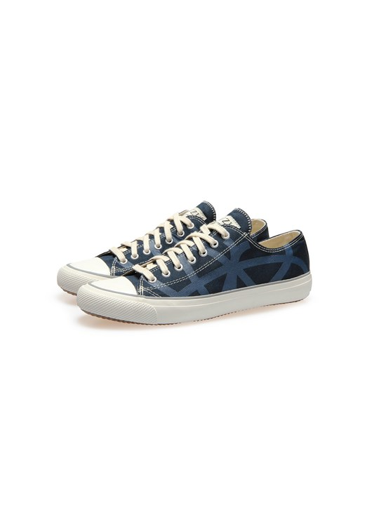 Po-Zu Navy lace-up Sneaker