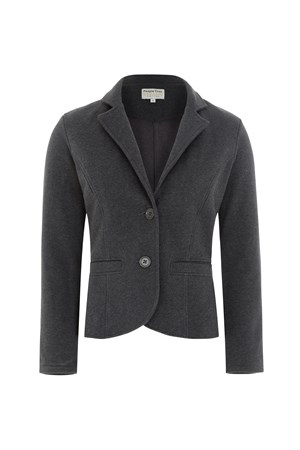 Hayden Jacket in Dark grey melange