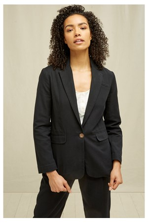Mirren Blazer In Black
