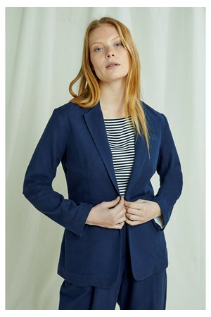 Mirren Blazer In Navy