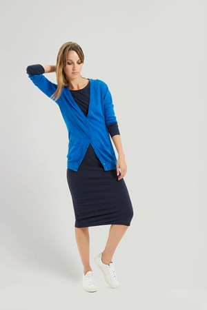 Rae Cardigan in Blue