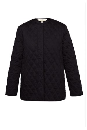 Tara Quilted Jacket In Black