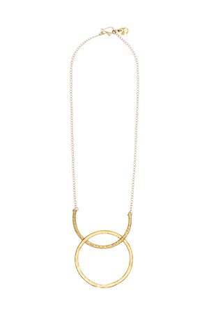 Arc and Hoop Necklace