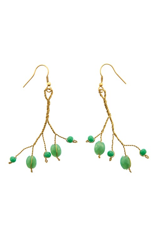Bead Branch Earrings